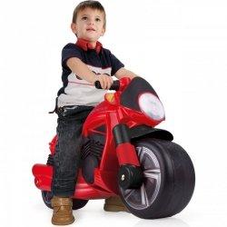 Injusa Motor Pchacz Jeździk Czerwony Szerokie Koła
