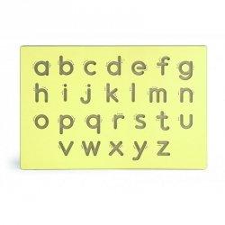 Nauka Pisania Małe Litery Szablon Do Tablicy Viga Toys