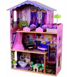 KidKraft drewniana Rezydancja marzeń domek dla lalek Duży mebelki