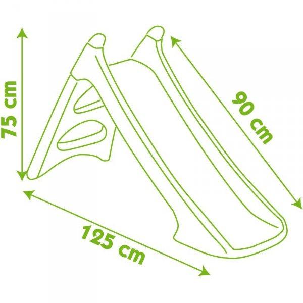 Smoby Zjeżdżalnia XS 90cm Różowa