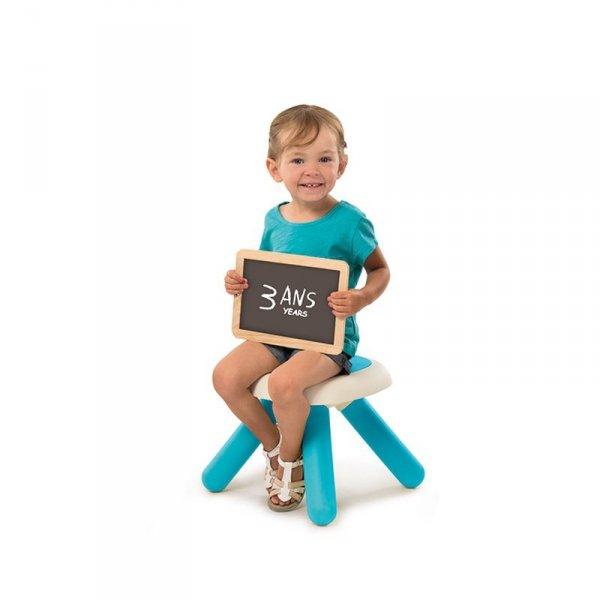 Taboret dla dzieci Smoby w kolorze niebieskim