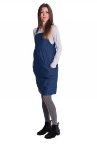 Sukienka ciążowa ogrodniczka 4027
