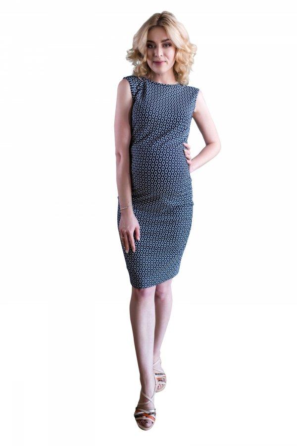 sukienka ciążowa dresowa