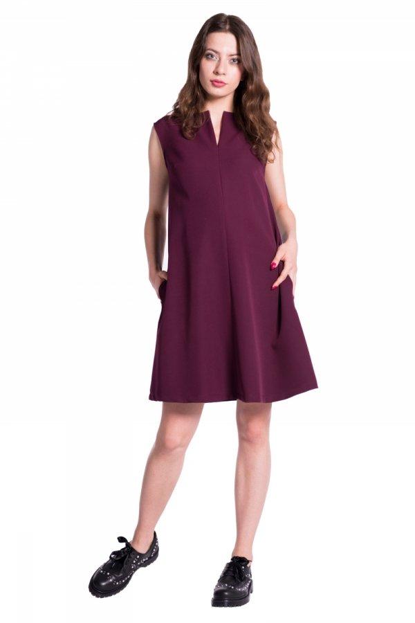 Sukienka ciążowa rozkloszowana 4294