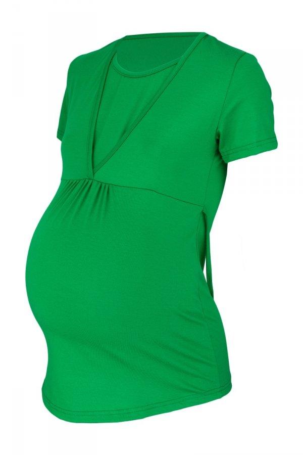 Bluzka ciążowa i do karmienia z krótkim rękawem 0159