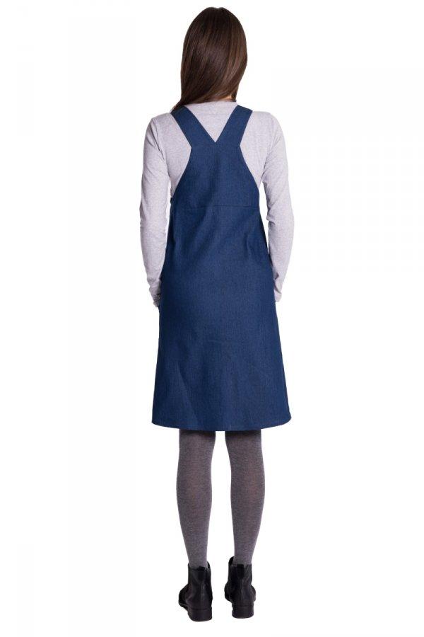 Sukienka ciążowa ogrodniczka