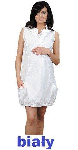 Letnia sukienka ciążowa bombka 0357