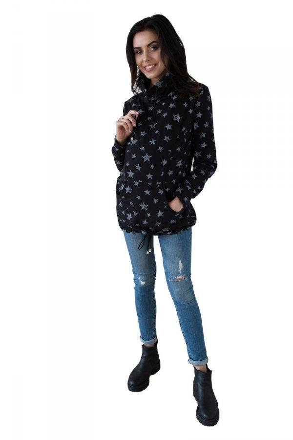 Bluza ciążowa i do karmienia, dresowa 4126