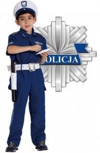 STRÓJ KARNAWAŁOWY POLICJANT DROGÓWKA 104