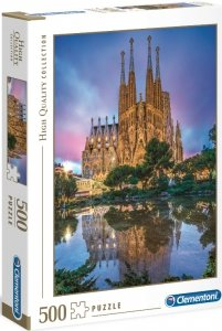 PUZZLE 500 SAGRADA FAMILIA HIGHT QUALITY CLEMENTONI