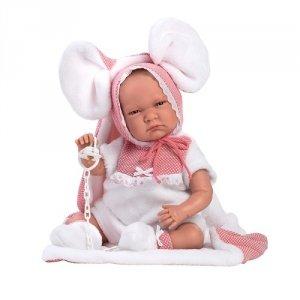 Hiszpańska lalka bobas dziewczynka Lala – płacze 42cm  #T1