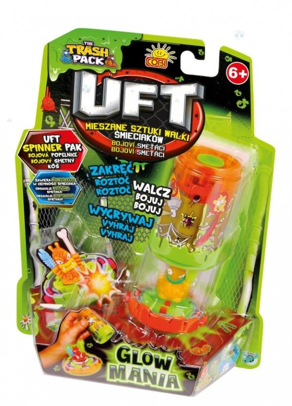TRASH PACK  UFT SPINNER PACK GLOW MANIA