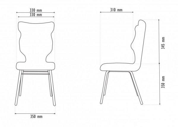 Krzesło SOLO Visto 08 rozmiar 3 wzrost 119-146 #R1