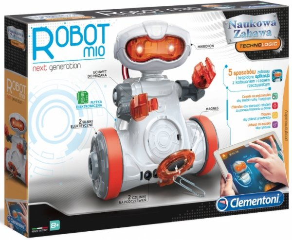 PROGRAMOWANY ROBOT MIO NASTĘPNA GENERACJA CLEMENTONI