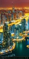 Kalendarz ścienny wieloplanszowy Above the  Cities 2021 - exclusive edition - styczeń 2021