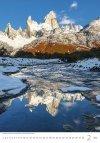 Kalendarz ścienny wieloplanszowy Mountains 2021 - luty 2021