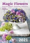 Kalendarz ścienny wieloplanszowy Magic Flowers 2021 - okładka