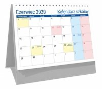 Kalendarz biurkowy szkolny PLANO