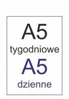Zeszytowe A5 (ok. 14,3 x 20,4 cm)