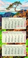 Kalendarze trójdzielne POSTER 2021