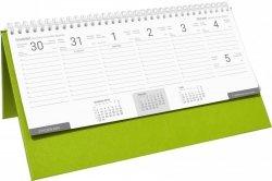 Kalendarz biurkowy stojąco-leżący BUSINESS LINE seledynowy
