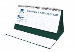 Kalendarz biurkowy EXCLUSIVE na rok szkolny 2019/2020 zielony