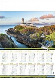 Kalendarz plakatowy A1/05 LATARNIA MORSKA 2020