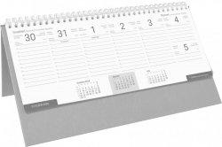Kalendarz biurkowy stojąco-leżący BUSINESS LINE szary
