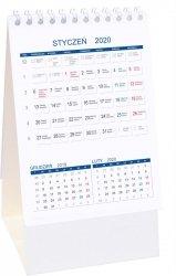 Kalendarz biurkowy stojący PIONOWY 3-MIESIĘCZNY 2020