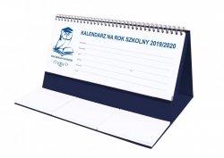 Kalendarz biurkowy EXCLUSIVE na rok szkolny 2019/2020 granatowy