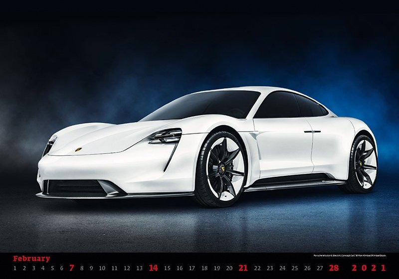 Kalendarz ścienny wieloplanszowy Cars 2021 - luty 2021