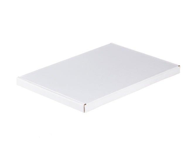 Opakowanie kartonowe białe 32 x 22 x 2 cm 410g