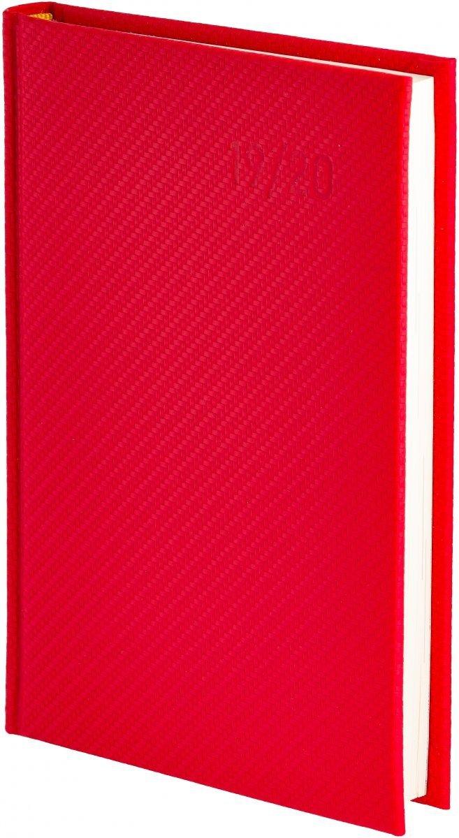 Oprawa Carbon w kolorze czerwonym
