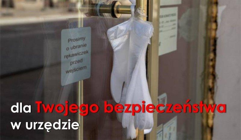 Rękawiczki jednorazowe HDPE do urzędu