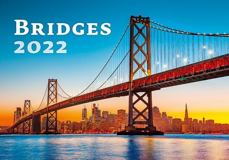 Kalendarz ścienny wieloplanszowy Bridges 2022 - okładka