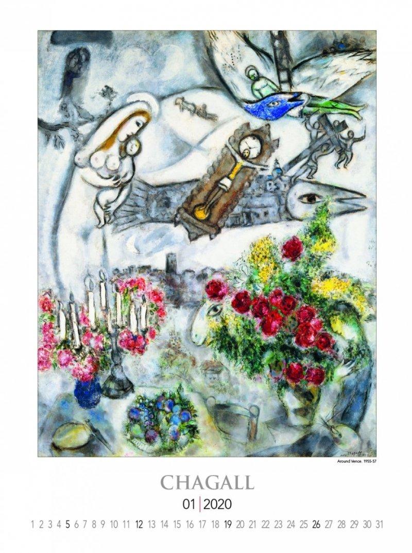 Marc Chagall 2020 - strona