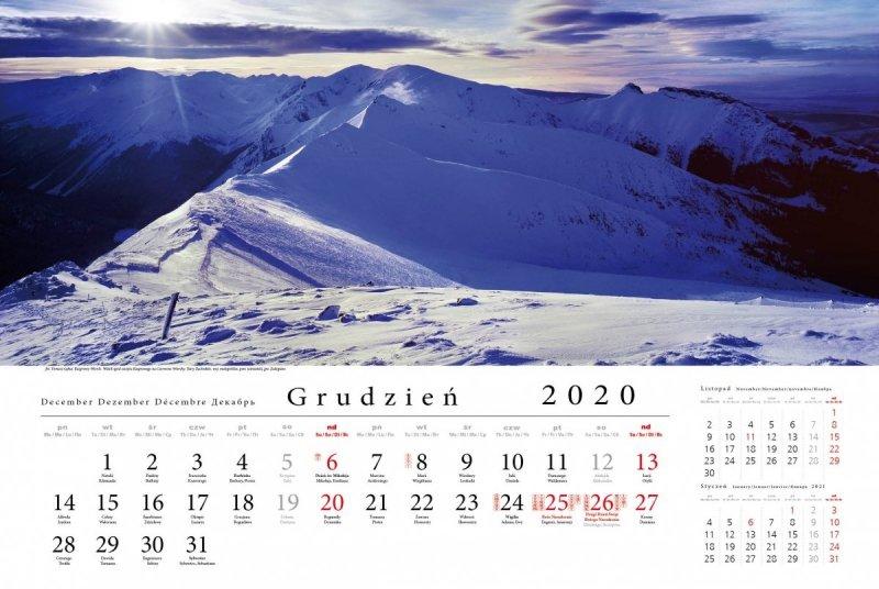 Tatry w panoramie 2020 - grudzień 2020