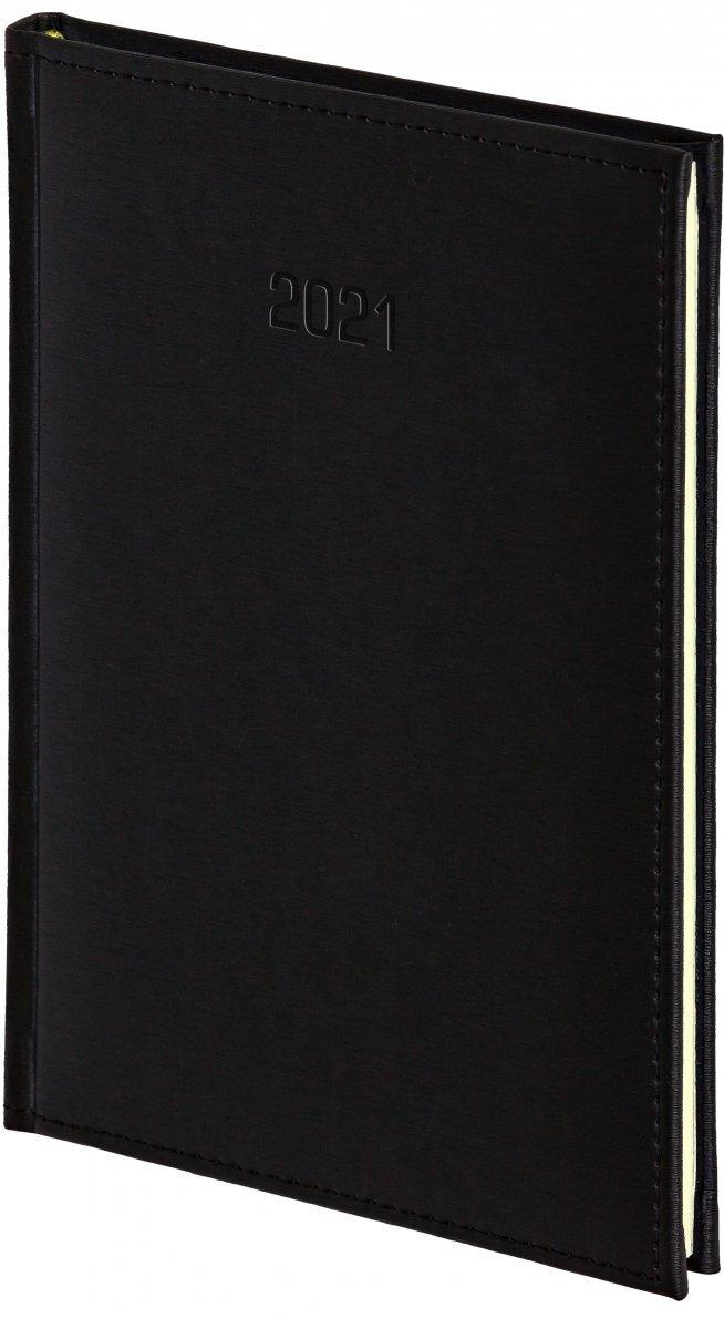 Kalendarz książkowy 2021 B5 tygodniowy oprawa VIVELLA EXCLUSIVE czarna
