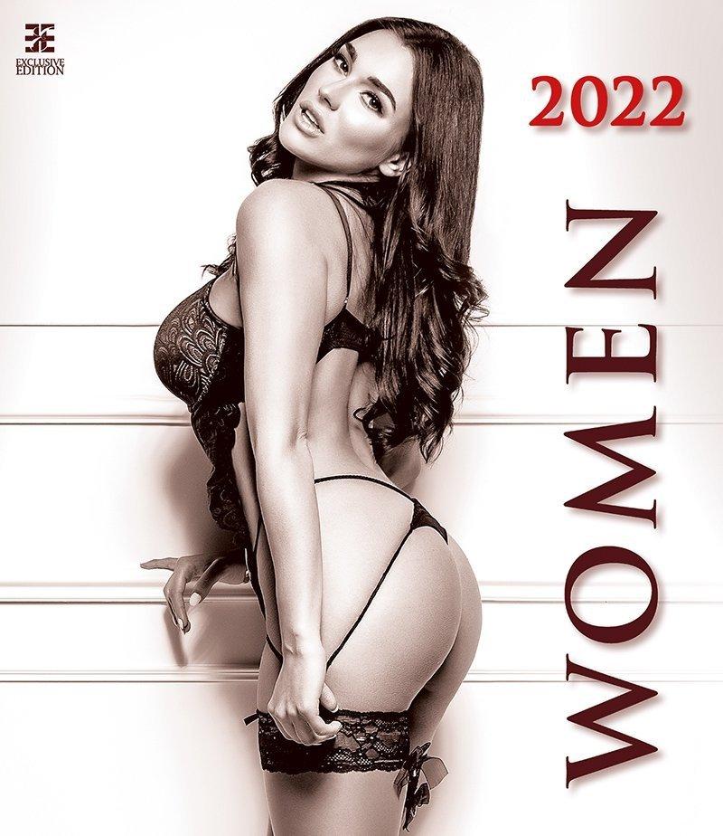 Kalendarz ścienny wieloplanszowy Women 2022 - exclusive edition - okładka