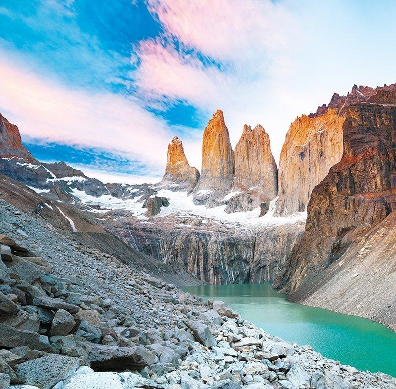 Kalendarz ścienny wieloplanszowy National Parks 2022 z naklejkami - listopad 2022
