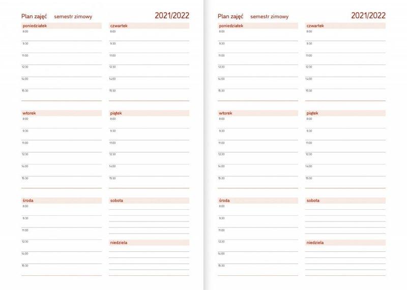 Kalendarz akademicki na rok szkolny 2021/2022 plan zajęć semestr zimowy