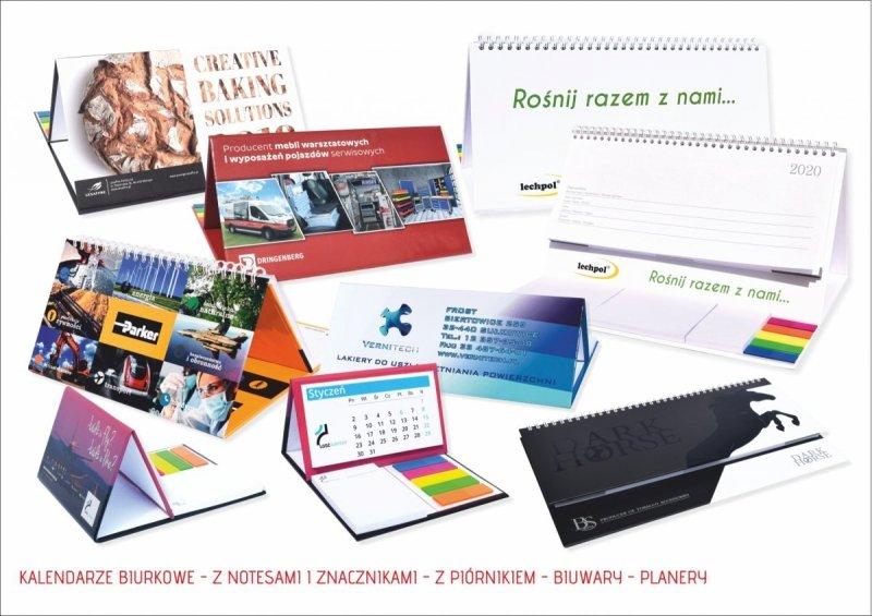 Kalendarze biurkowe 2021
