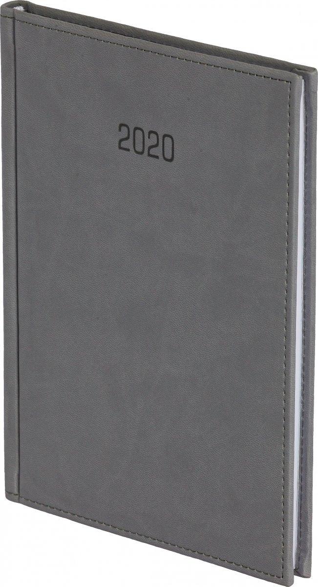 Kalendarz książkowy 2021 B5 tygodniowy oprawa VIVELLA EXCLUSIVE szara
