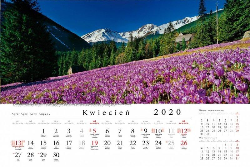 Tatry w panoramie 2020 - kwiecień 2020