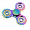 Fidget Spinner Metalowy Tęczowy wzór 7 + box