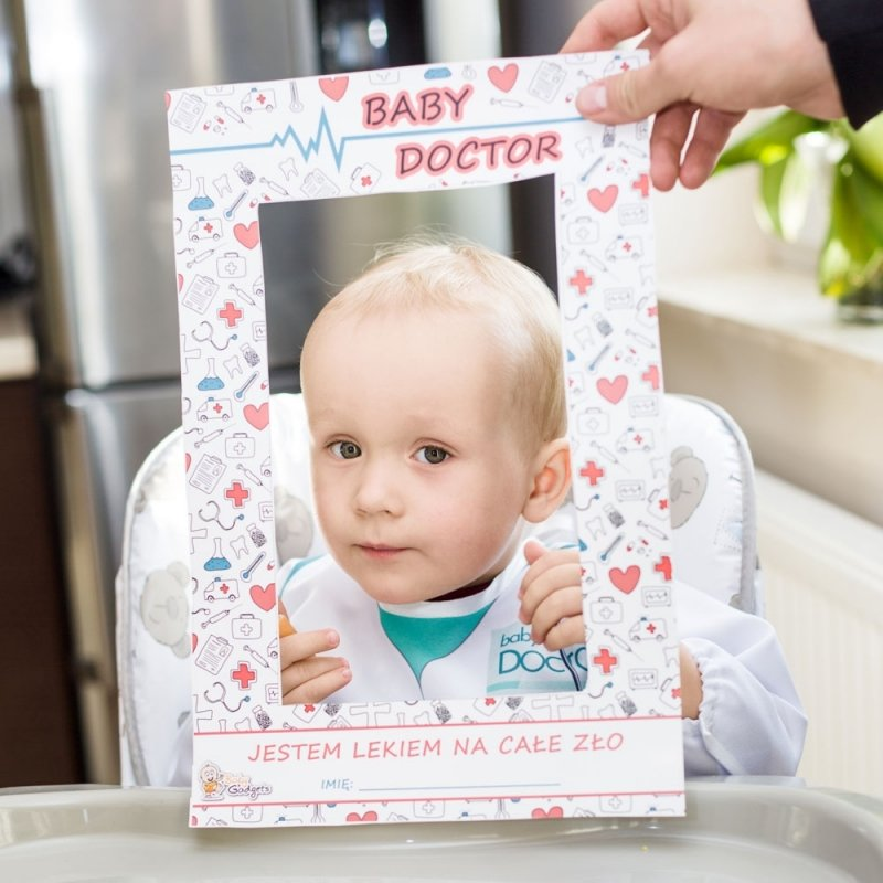 Baby Doctor - Śliniak z rękawami