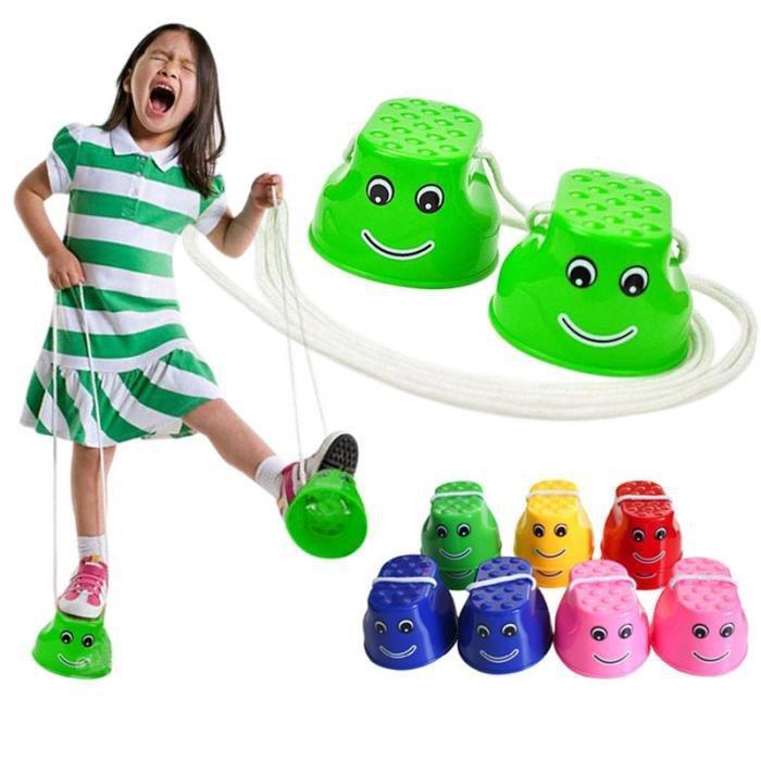 Szczudła-dla-dzieci-chodaczki-sport-równowaga-różowe-2