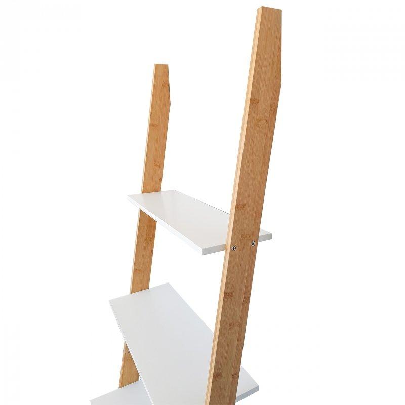 Stojak bambusowy drabina