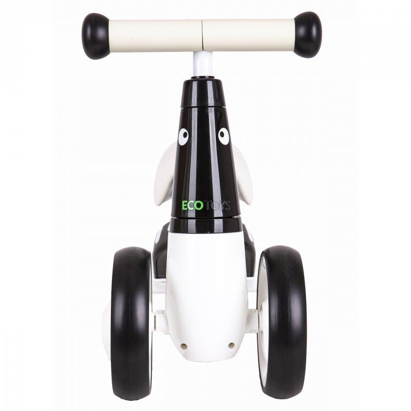Rowerek biegowy jeździk chodzik mini rower czarny Ecotoys