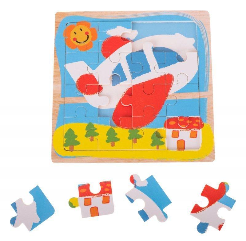 Puzzle-drewniane-układanka-samolot-12-el.-15x15 cm-1